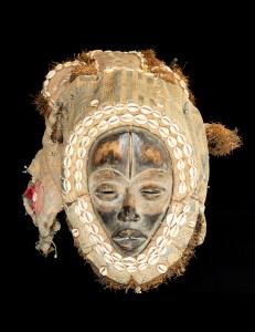 Spectaculaire masque Dan - Cote d'Ivoire