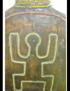 Poupée statuette Namdji Cameroun