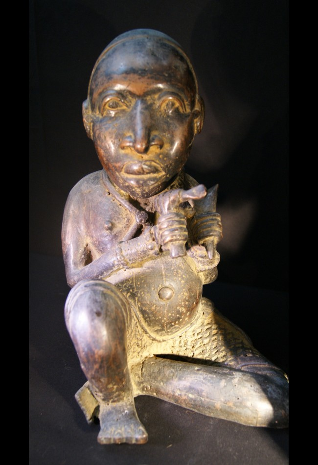 Nains de cour de l'Oba en bronze Ifé Benin