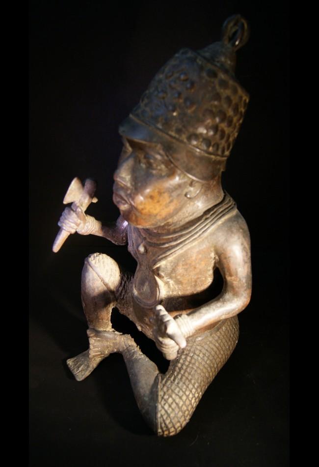 Nain de cour de l'Oba Ifé Bénin