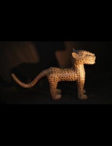 Leopard bronze Ifé Bénin