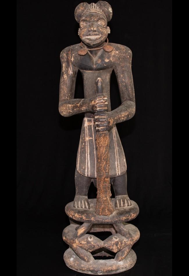 Statue Bamoun Cameroun
