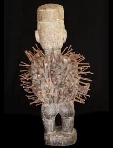 Statue fétiche Kongo Nkisi Yombé RDC