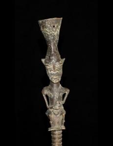 Machette en bronze Mossi Burkina Fasso