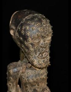 Magnifique statue fétiche Songye Nkisi RDC