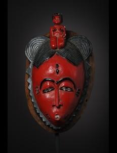 Masque Kpan du Goli-Baoulé Cote d'Ivoire
