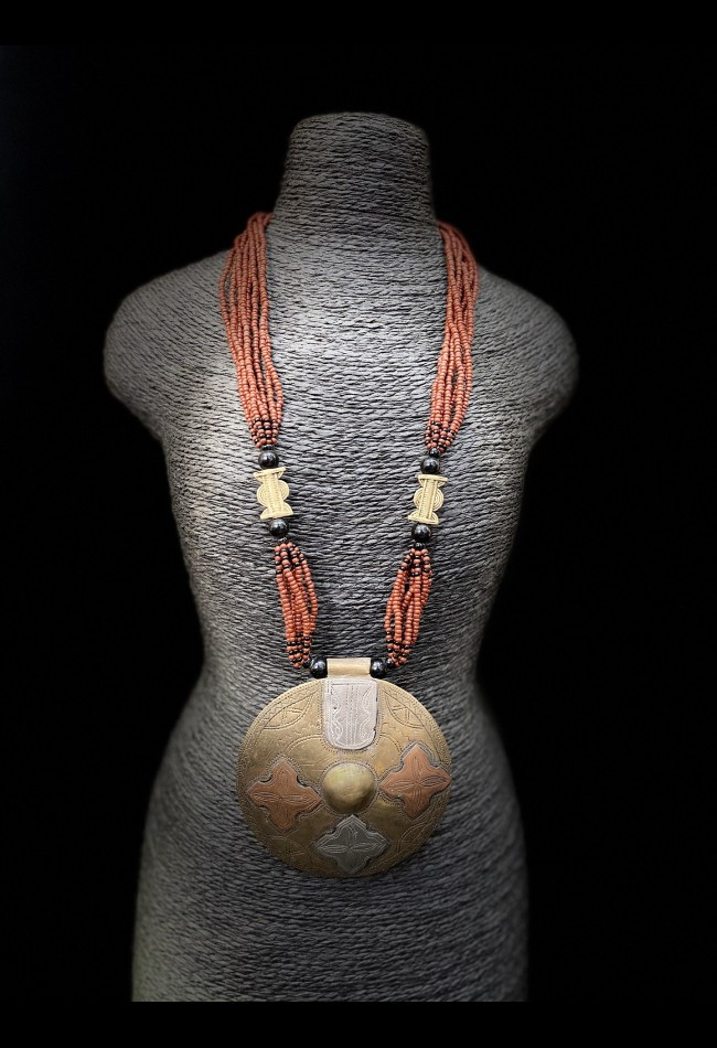 Collier ethnique africain Akan