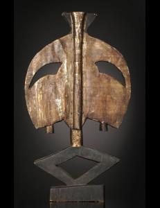 Figure gardienne de reliquaire Ndassa - RDC