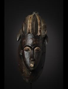 Rare masque Baoulé Cote d'Ivoire