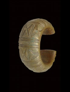 Bracelet bronze Djerma Sud Algérie.