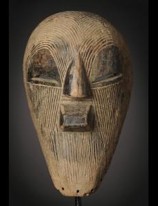 Masque Kifwebe Songye RDC