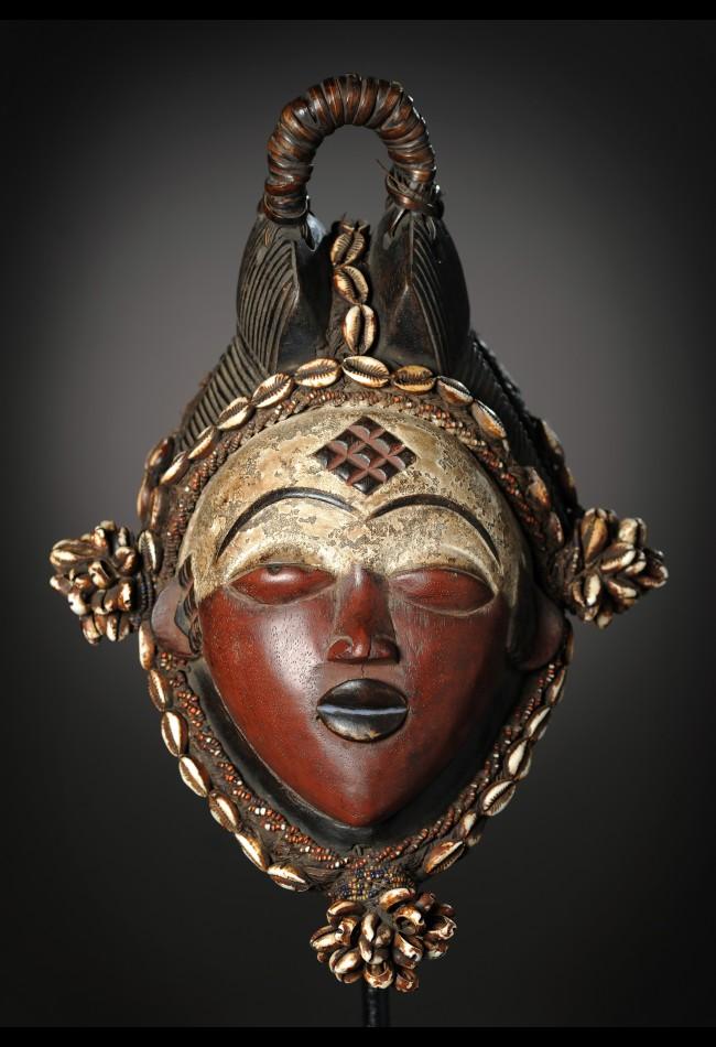 Masque Mukuyi Punu /Lumbu Gabon