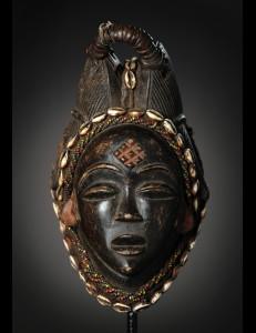 Masque Mukuyi Punu / Lumbu Gabon