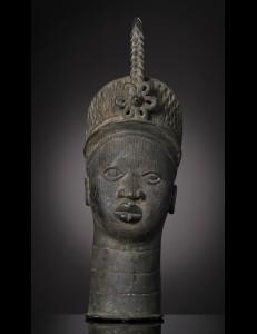 Tete bronze Ifé Bini Edo Nigéria