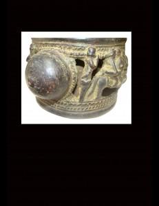 Bracelet bronze Yoruba