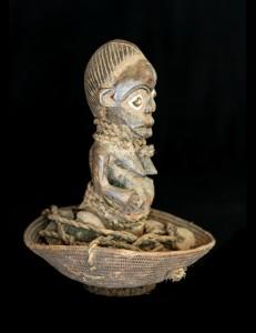 Panier divinatoire Kitumba - Ngombo - Hemba RDC