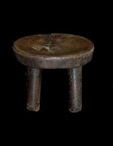 tabouret senoufo côte d'ivoire