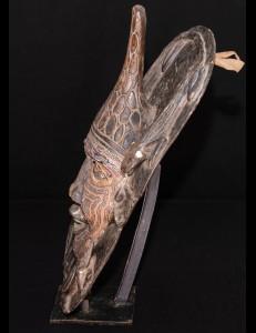 masque perlée bamiliké cameroun