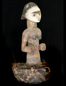 Panier fetiche Pounou Gabon