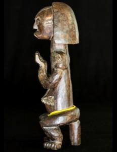 Figure de reliquaire Fang Biéry - Gabon