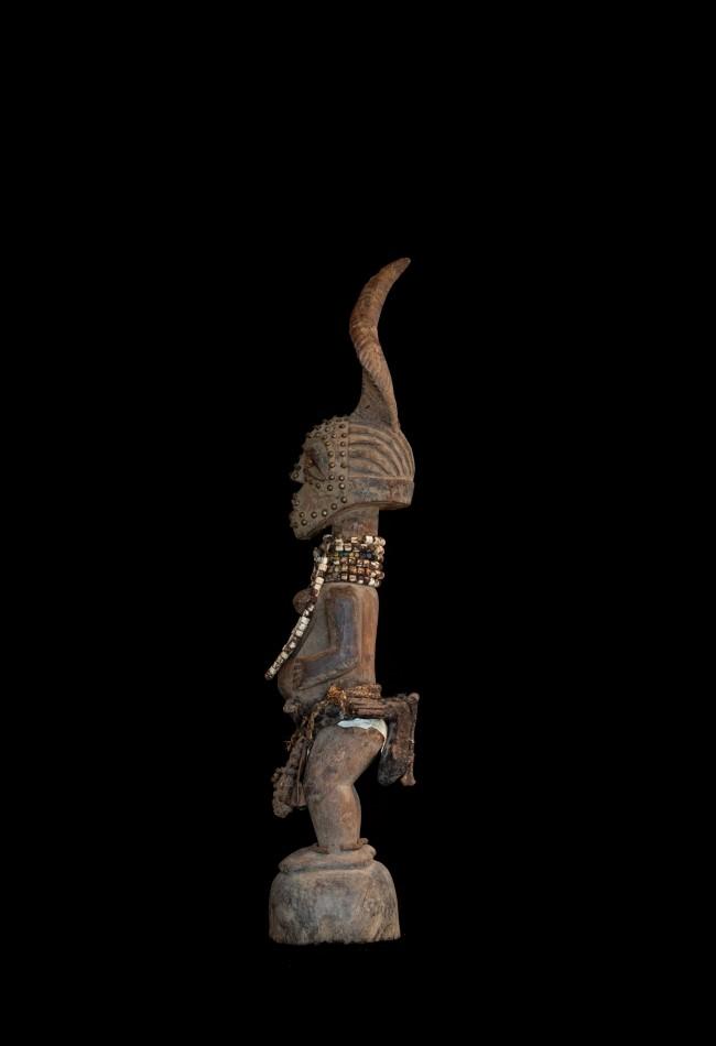 Rare statue fétiche Songye Nkisi  RDC