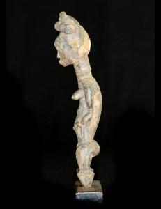 Statuette féminine Baoulé Côte d'Ivoire