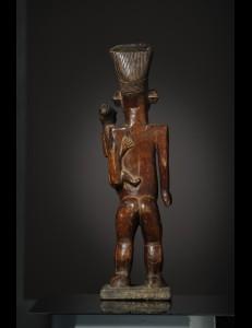 Statuette Maternité Mambila Mangbetu RDC