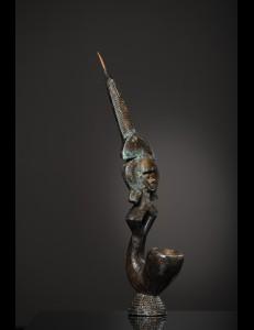 Magnifique pipe bronze Marka - Mali