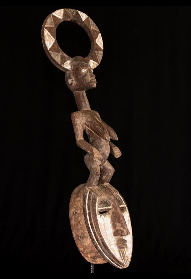 Masque africain Karan-Wemba Mossi Burkina-Faso