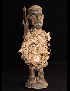 Fétiche Kongo Nkisi RDC