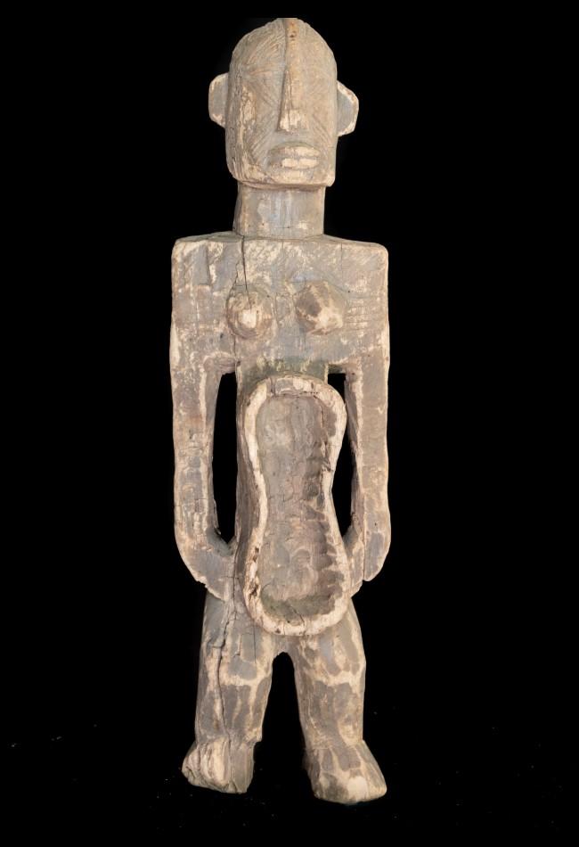 Objet d'art - Statuette coupe Koro Nigéria