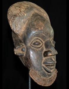 Typique masque Bamoun Cameroun
