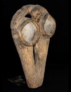 Magnifique soufflet de forge Fang Béti Gabon
