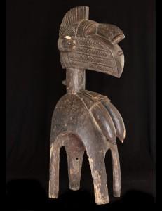 Masque d'épaule Nimba Baga Guinée