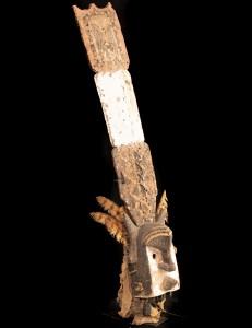 Masque facial Kanaga Dogon Mali