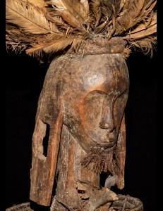Magnifique corbeille de reliquaire Fang Gabon