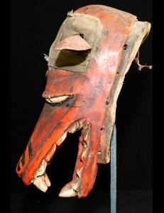 Masque hyène Gélédé Yoruba Nigéria