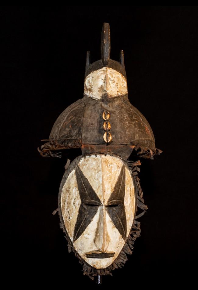 Masque de justice Igbo Nigeria