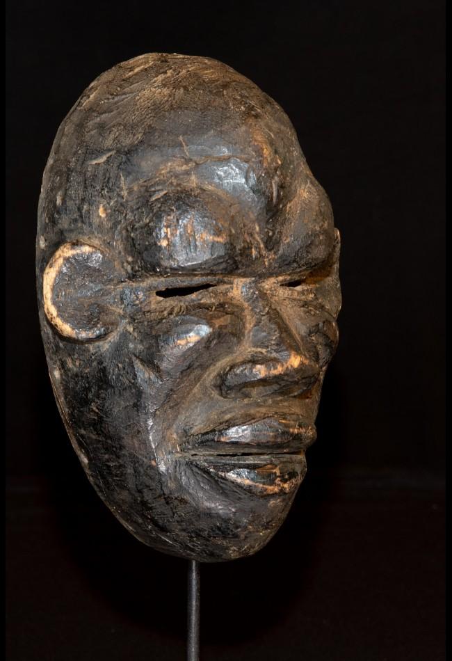 Masque Africain facial Ekoî Nigeria
