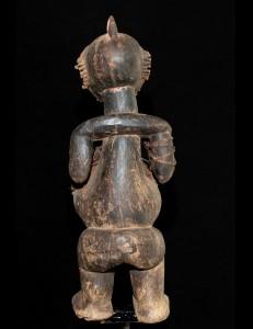 Ancienne statue fétiche Ambété Gabon