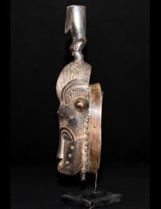 Masque Baoulé Kplé-Kplé Cote d'Ivoire
