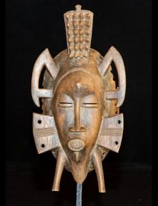 Masque Sénoufo Kpélié Cote d'Ivoire
