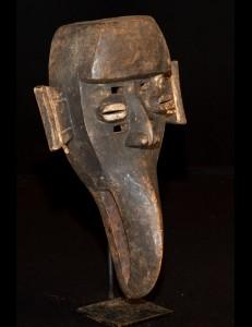 Masque tête Rituelle  Dan Mahou Cote d'Ivoire