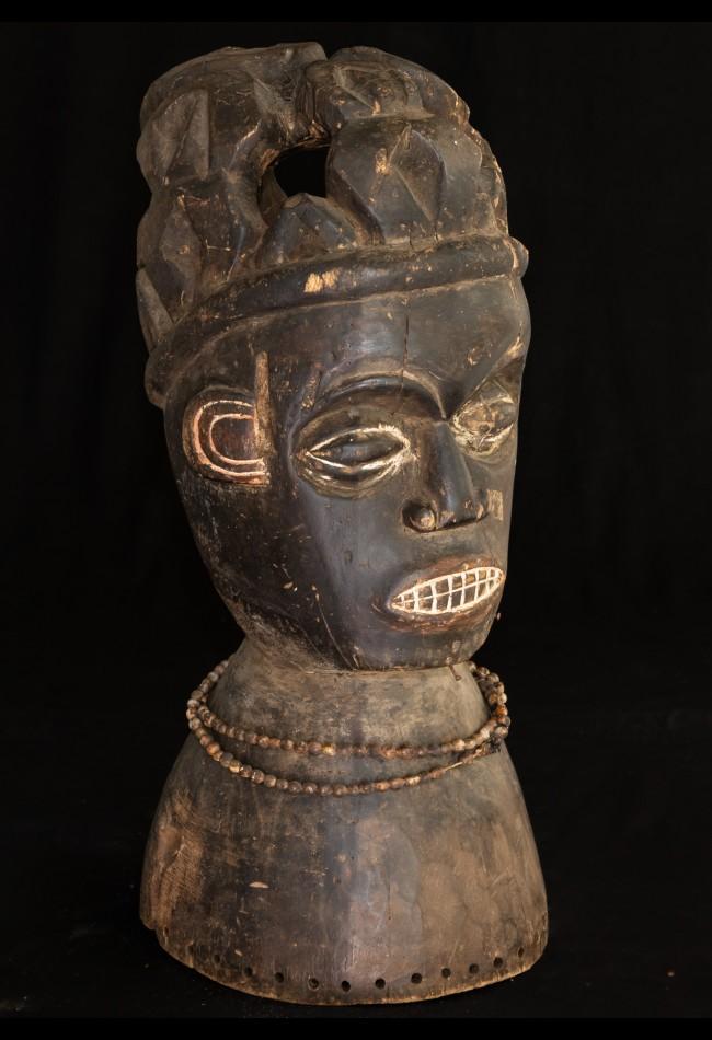 Masque Heaume Bamoun Cameroun