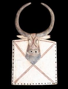 Masque Baoulé Kpan pré du Goli  Côte d'Ivoire