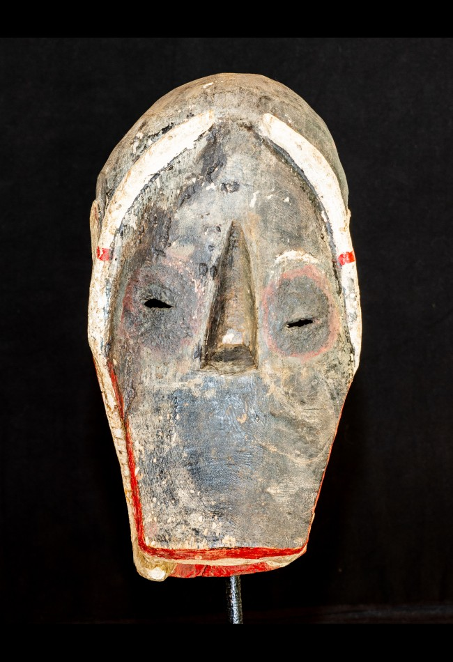 Masque zoo-anthropomorphe  Dan Côte d'Ivoire