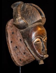 Masque Kpan Goli Baoulé Cote d'Ivoire
