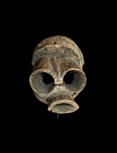 Masque casque Vabo Mumuyé Nigéria