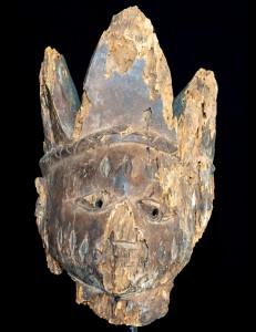 Antique masque Yoruba Nigeria