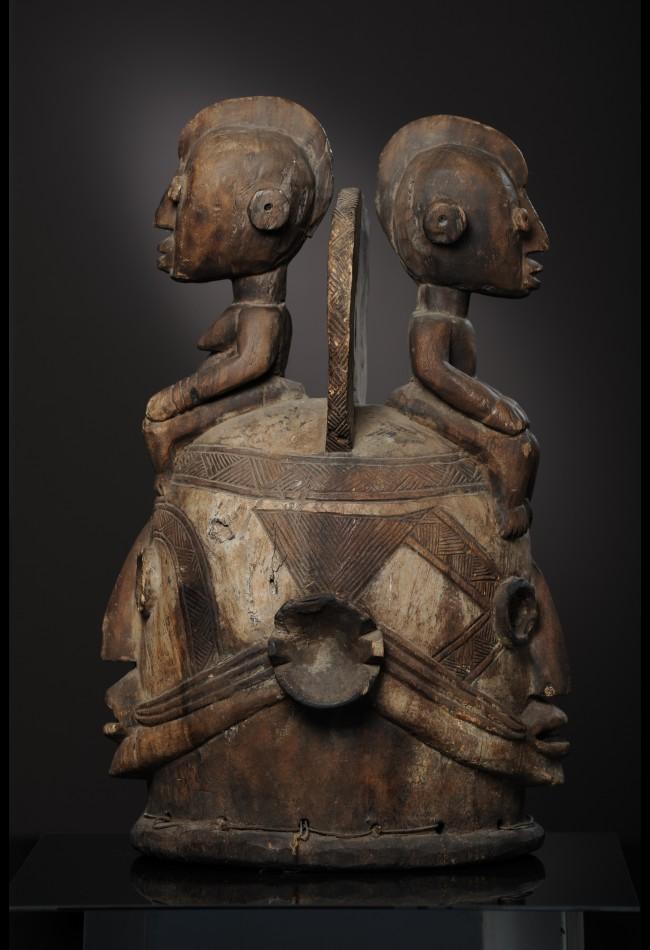Masque Heaume Janus Igbo
